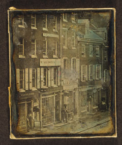 John McAllister's optical shop, Philadelphia, is considered the first in the nation.